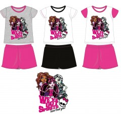 Pyjama court Monster High -830-128