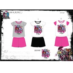 Pyjama court Monster High -830-136