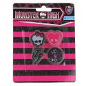 Monster High Set de 4 gommes Monster High