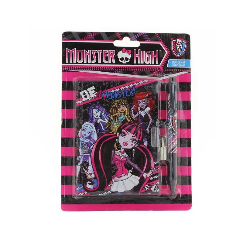 Journal Intime Monster High et son stylo à bille