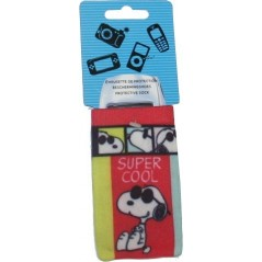cover snoopy, sock protection for mobile phone