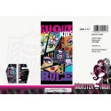 Telo mare Monster High in cotone - 820-117