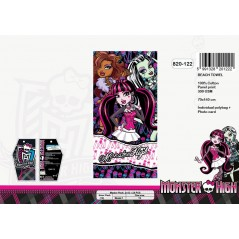 Telo mare Monster High in cotone - 820-122