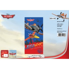 Beach towel Planes Disney - 820-153