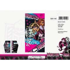 Monster High Gm Baumwoll Strandtuch - 820-140
