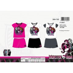 Pyjama court Monster High 830-720