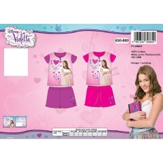 L'ensemble pyjama court Violetta Disney - 830-860