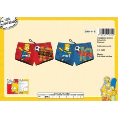 Boy's Swimsuit Simpson, Boxer Shape - 910-111