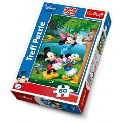Puzzle 60 pieces Mickey mouse Disney