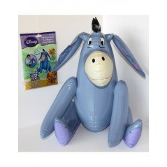 Character inflatable Eeyore from winnie the pooh Disney 45 cm