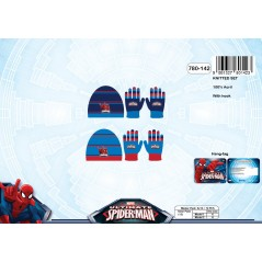 Set Bonnet et Gants Spiderman -780-142