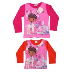 T-shirt Doc Mc Stuffins Disney long sleeve-961-158