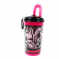 Kubek słomkowy 430ml Monster High