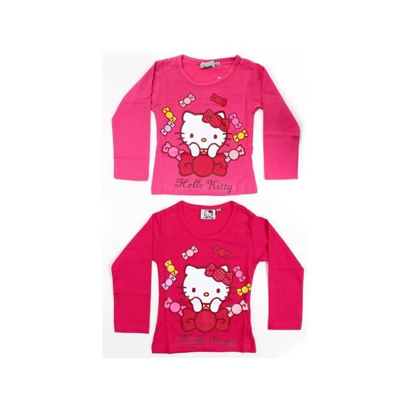 Hello Kitty Long Sleeve T-shirt -961-114