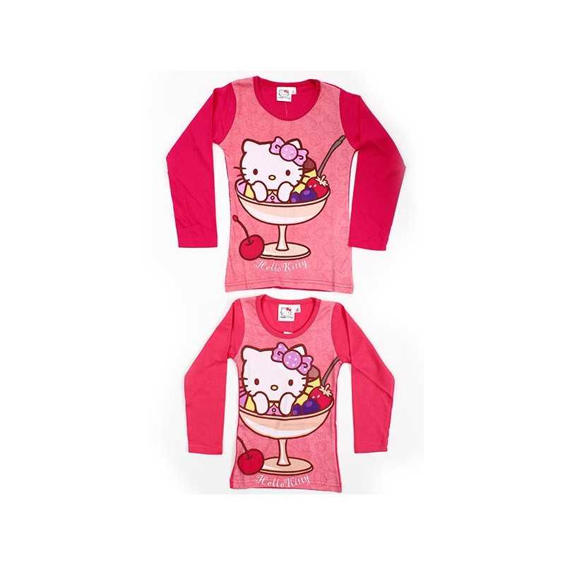 T-shirt Hello Kitty manches longues -961-112