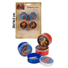 Spiderman pencil 4-size blister