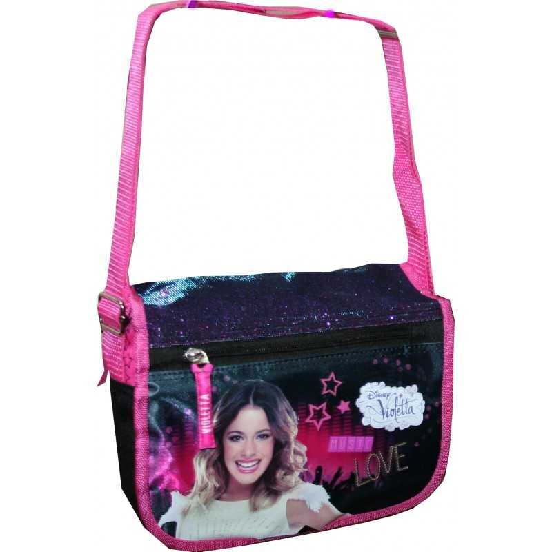 Disney Violetta flap shoulder bag