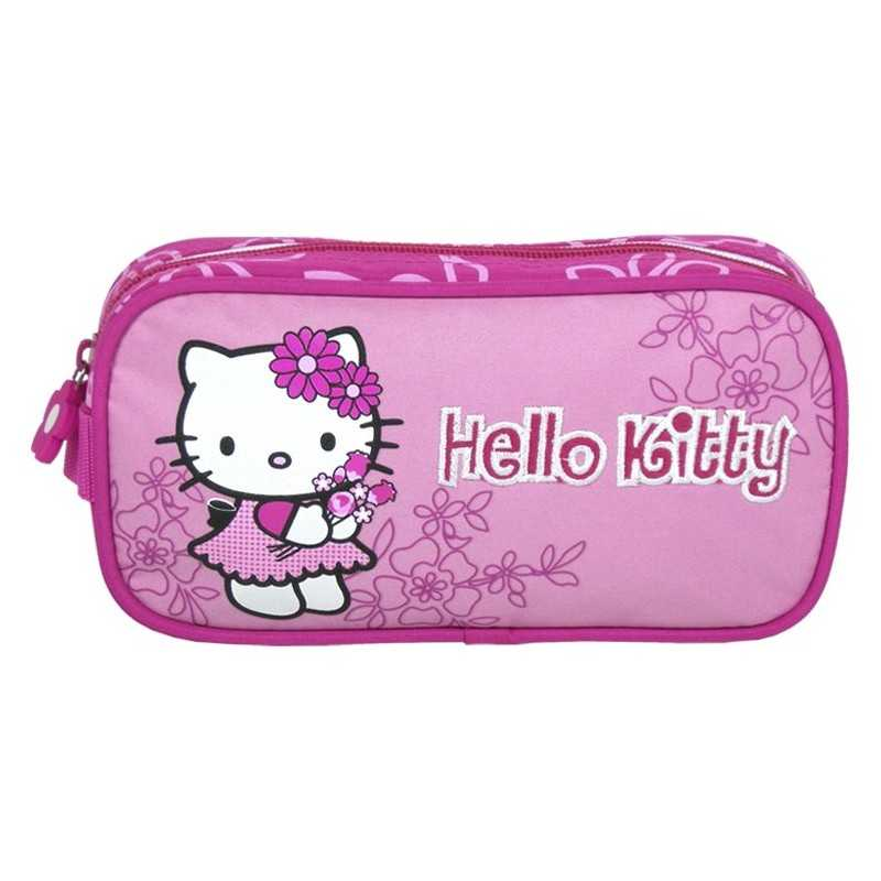 Trousse Hello kitty rose