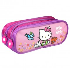Kit Hello Kitty black with 2 compartments