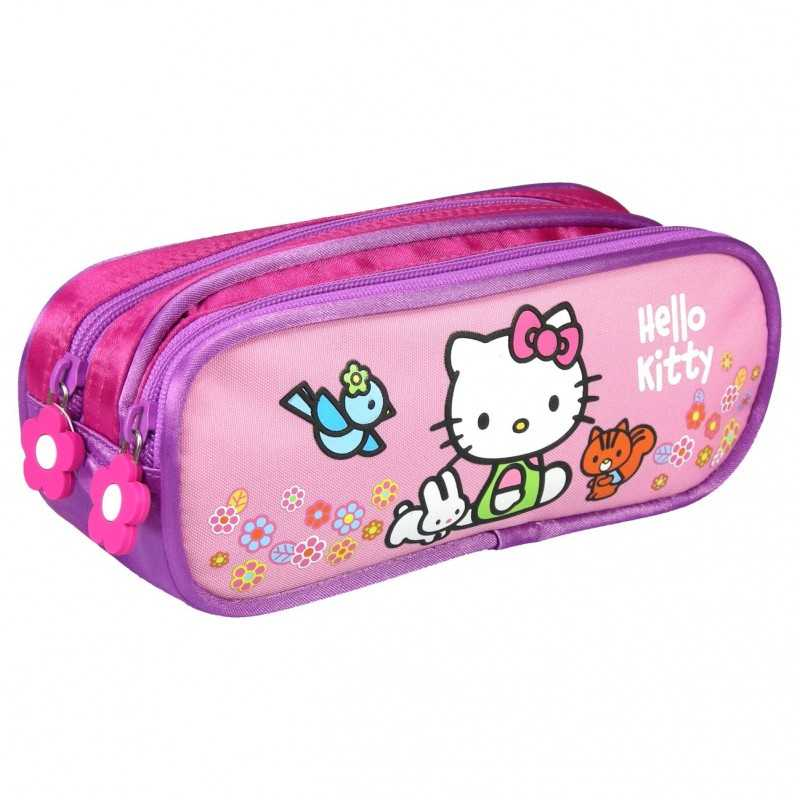 Hello Kitty kit with 2 compartments