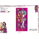 Drap de plage coton Ever After High-820-402
