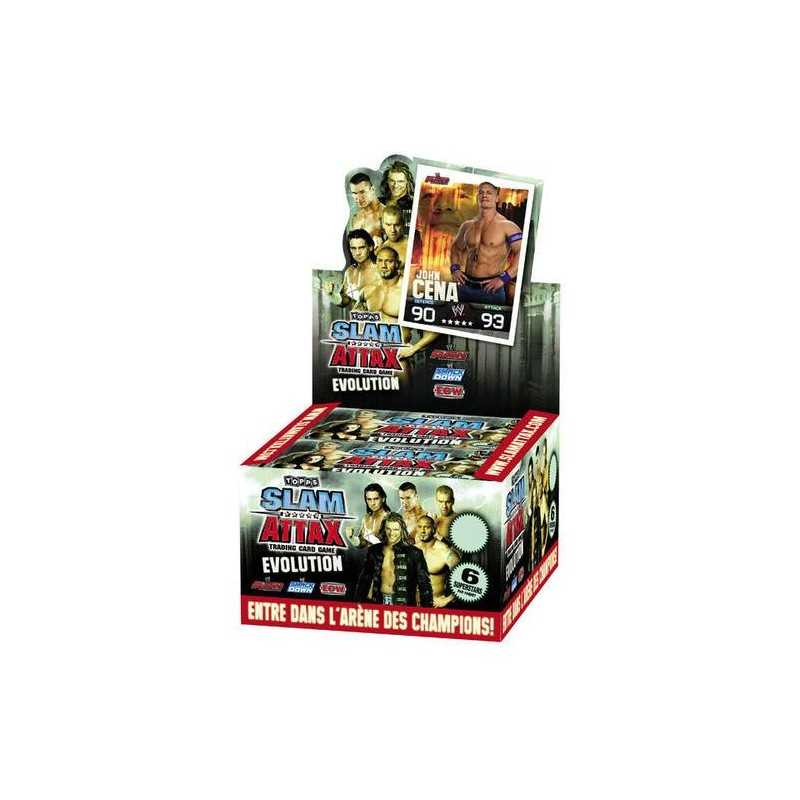 Boosters e 6 cards wwe Slam Attax