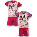 Disney Violetta shorts and t-shirt