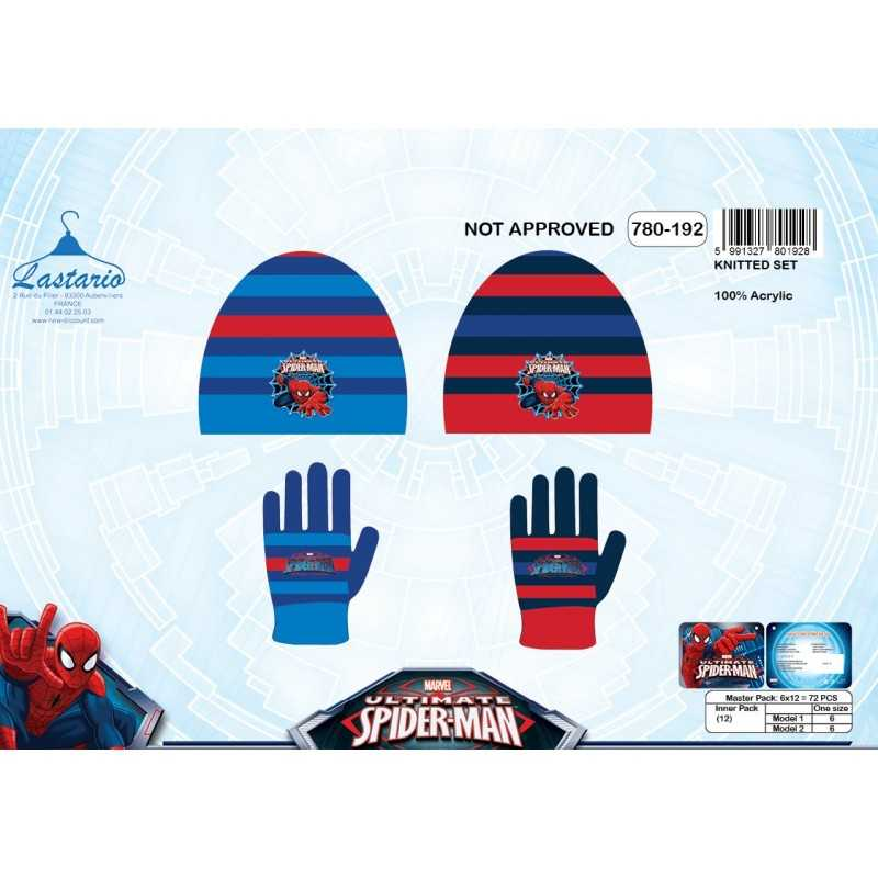 Set di guanti Spiderman e Spiderman