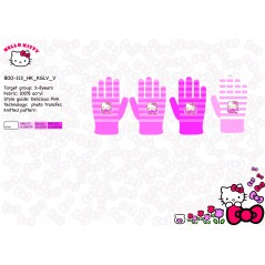 Hello Kitty Gloves Set -800-113