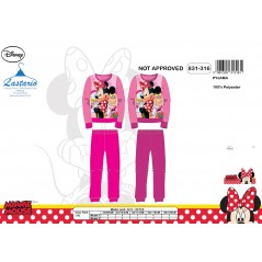 Pyjama polaire long Minnie -831-316