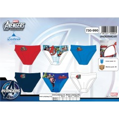 Box of 3 panties the Avengers