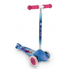 Twist & Roll queen-snow - Scooter 3 wheels Frozen Disney