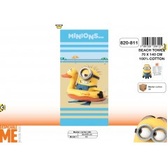 Beach towel or bath towel Minions - 820-811