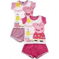 Pyjama Short Girl Peppa Pig