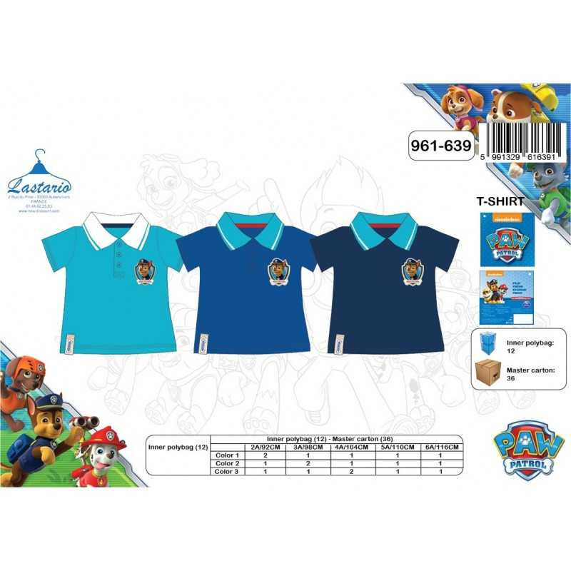 Short-Sleeved Polo Shirt Paw Patrol