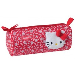 TROUSSE A CRAYONS ROUGE HELLO KITTY
