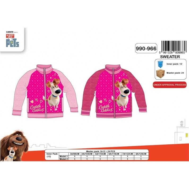 Sweat Secret Life Of Pets  - Pour Filles
