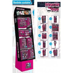 mostrar 132 piezas GARNI RENTREE SCHOOL MONSTER HIGH