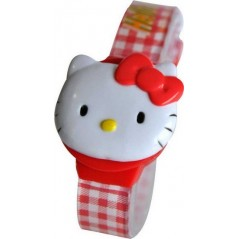 Hello Kitty Digital Strap Plastic Watch - zr20142