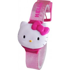 Hello Kitty Digital Bracelet Plastic Watch.
