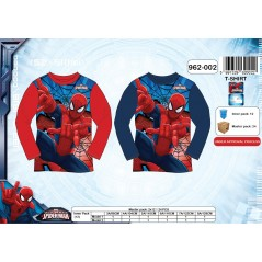 T-shirt manches longues Spiderman - marvel