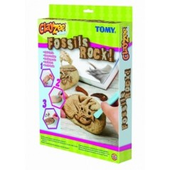 ClayZee box creative effect fossil