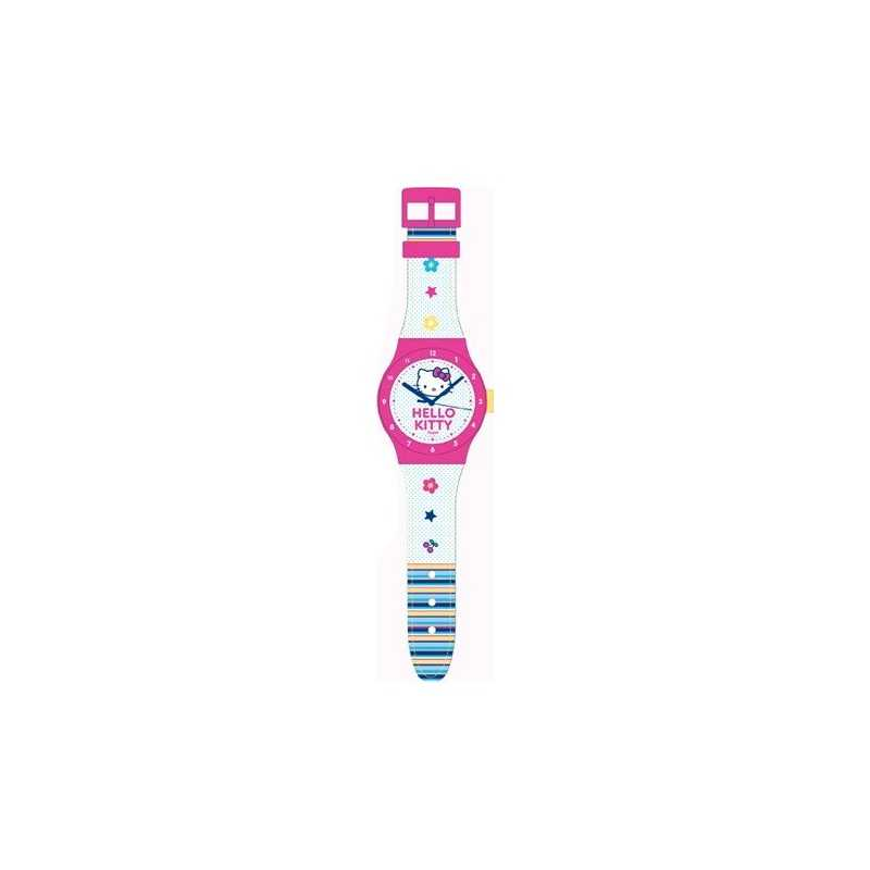 Large Hello Kitty clock in the shape of H watch: 90cm