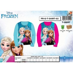 Long Sleeve Snow Queen T-shirt - frozen disney -