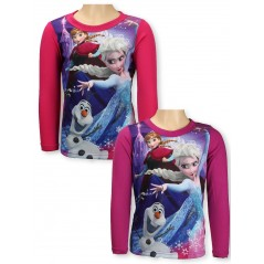 Langärmliges Snow Queen T-Shirt - Frozen Disney