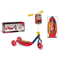 SCOOTER Disney Cars Scooter-3 wheels, with bag cars