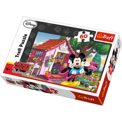 Puzzle 60 p Mickey et Minnie