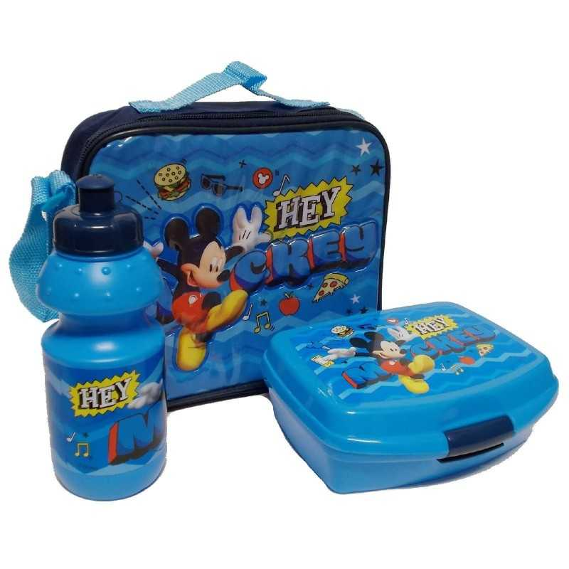 Mickey isothermal bag with snack box and gourd Mickey