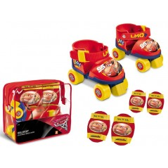 Roller Skate Cars + Protections Cars Set