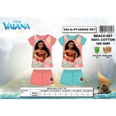 Ensemble Short + T-shirt Vaiana Disney